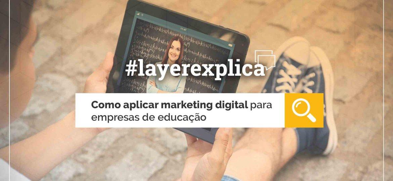 A tecnologia está transformando setores e as ações de marketing digital para empresas de educação nunca foram tão importantes. Saiba mais em nosso blog!
