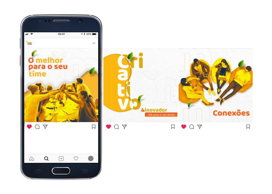 branding e naming - redes sociais Mango Tree