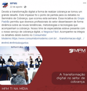 marketing digital - case mfm