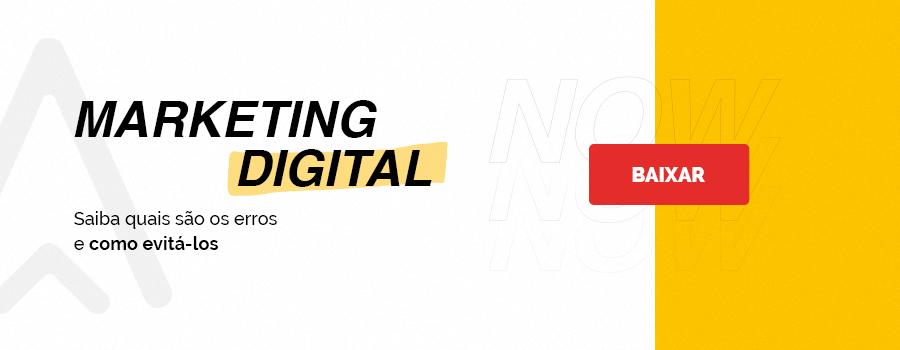 Conheça os principais erros de marketing digital e saiba como evitá-los.