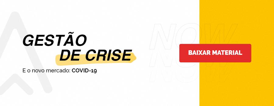 Um material completo e gratuito sobre gerenciamento de crise, com insights sobre as mudanças no mercado e o novo comportamento do consumidor, dicas para ações práticas durante a crise e os planos de diversos players do mercado.